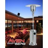 Plynový infračervený tepelný zářič - značkový terasový ohřívač AVENBERG Heinz 5-12kW k ZAPŮJČENÍ