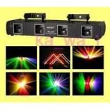 400mw Professional DJ Laser Light 4 Heads 4 Lens  RGBY Laser stage show sound active,DMX vstup, k zapůjčení