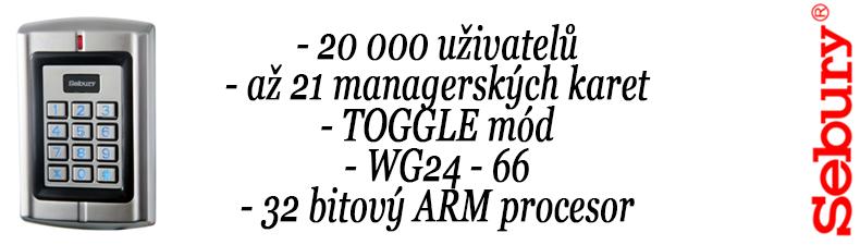SEBURY B6K klávesnice IP65