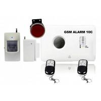 GSM alarm set - zvuk a ovládanie v ČEŠTINE / ALABASTR II - 10C