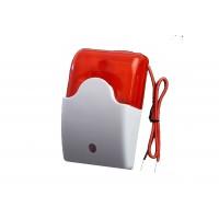 Červená drôtová strobo siréna k GSM alarmu malá LM103