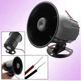 Vonkajší / vnútorný drôtová siréna, 120dB
