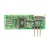 Úprava GSM alarmu - bezcívkový RF superheterodyne modul