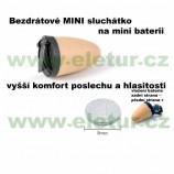 Extra miniatúrne bezdrôtové batériové špionážne slúchadlo GSM, … *
