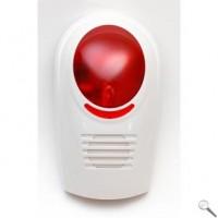 Bezdrôtová vonkajšia strobo siréna pre GSM alarm L&L-606W-W