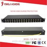 16CH video přepětová ochrana pro analogové videokamery YJS-BNC-16E