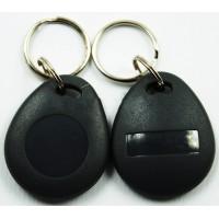 Bezkontaktní RFID čip se zvýšenou odolností, odolny, EM 125 kHz,  černý