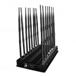 Nástenná dosková silná rušička 16 antén, komplexné zarušeniu JYT-1600 GSM 900/1800 (DCS), GSM 3G, WIFI + Bluetooth 2.4GHz, VHF, UHF, 4G LTE EÚ, 4G Wimax EÚ, LoJack, GPS, 433MHz, 868MHz, 315MHz , total 42W