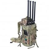 Armádne batoh - rušička GSM pásiem, 3G, GPS 50W