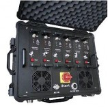 Armádne rušička - rušička GSM pásiem, 3G, GPS, CDMA-WIFI, Bluetooth 320W