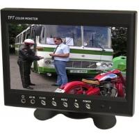 "LCD color monitor TFT 7"" CL-7016, 800x480 pix., zobrazenie CCTV"