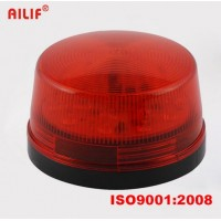 Červený maják, drôtová strobo siréna k GSM alarmu, len svetelný efekt LM105