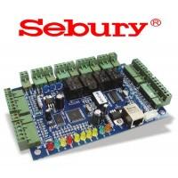 SEBURY 800NT4 - řídící jednotka pro 4 dveře, IP komunikace, CZ SW v ceně, JEN HLAVNÍ OVLÁDACI DESKA