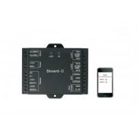 Crypton sboard II, WIFI P2P řídící jednotka, Android, iOS, 2x relé,  pro čtečky a klávesnice WG 26-37