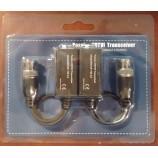 HD-TVI (AHD) video baloun, balun, transreceiver, souprava převodníků pro přenos analogového HD videa po UTP - TT-TVI02/UTP101P-HD