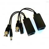 HD-AHD video baloun, balun, transreceiver, súprava prevodníkov pre prenos analógového HD až 8MPx po UTP - TT-TVI02/UTP101P-HD