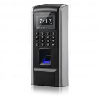 Biometrická čítačka prstov F8 s klávesnicou a RFID čítačkou, dochádzkový systém, LAN, autonomní klávesnice