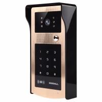Kovový odolný videozvonek vonkajšie s RFID čítačkou a klávesnicou  XSL-IDS