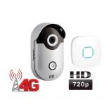 WiFi 4G video zvonek Zoneway ZW-D1-H, volání do mobilu , 720p