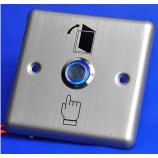 SESAME SB3R, odchodové tlačidlo, kontakty NO/NC/COM, LED podsvietenie