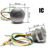 IC WG-26 / 34, RFID miničtečka, zápustná - závrtná MIFARE 13,56MHz
