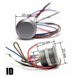 ID-WG-26, RFID miničtečka, zápustná - závrtná, EM - 125 kHz