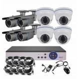 8CH 5MPx STARVIS kamerový set CCTV - DVR s LAN a 8x venkovních vari 2,8-12mm bullet/dome bílé IR kamer, 2688×1960px/CH, CZ menu,P2P, HDMI, IVA, H265+