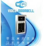 WIFI IP video telefón XLS-A8, WIFI, P2P, LAN, relé, RFID čítačka, klávesnica, antivandal