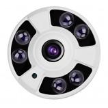 4MPx AHD/TVI/CVI kamera s rybie oko - FISH EYE,, IR 40m, IP65, HICO-HFIF06M40K