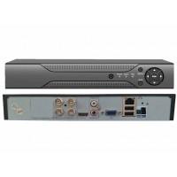 4CH 8MPx DVR/XVR MHD-T0401GLA 4K H.265+, IVA,  HDMI, P2P, AUDIO, ONVIF, CZ menu NOVINKA