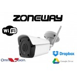 5MPx WIFI IP kamera H265, Omnivision WDR,  EXIR IR40m, ONVIF, SD, P2P, Dropbox, GOOGLE (ZONEWAY NC950) CZ menu
