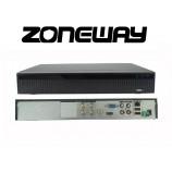 8CH IP (4CH AHD) 8MPx hybridný rekordér 4K XVR, ONVIF, RS485, H265, HDMI, P2P, CZ menu, AUDIO (ZONEWAY XVR2104D)