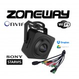 2MPx IP WIFI STARVIS skrytá H265 WDR dierkové kamera, Audio I/O, Alarm I/O, SD, P2P, ONVIF, Dropbox, GOOGLE (ZONEWAY NC920)