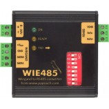 Prevodník Wiegand 26-37 na RS485 WIE485