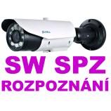 2MPx IP LPR Sunell SN-IPR57/20AKDN/T/Z POE  - čítania SPZ - NO/NC/COM, Audio, H265, ZOOM (7 - 22mm), SW v cene